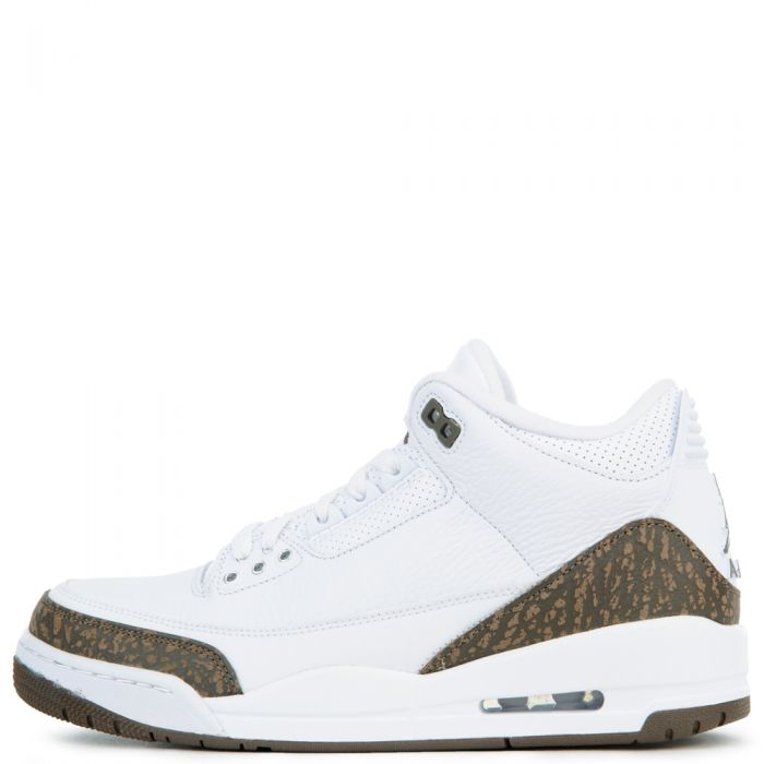 promo code 66899 296a7 AIR JORDAN 3 RETRO WHITE/DARK MOCHA-CHROME