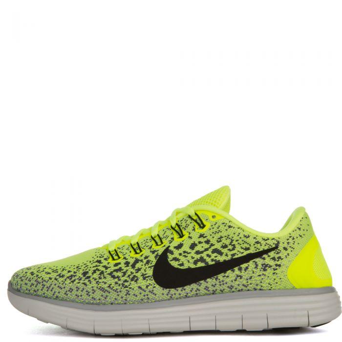 arroz Retrato S t  Nike Free Running Distance Neon Yellow/Black/White