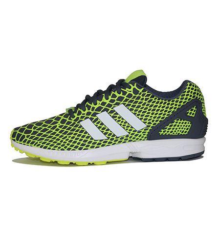 55d978a68 Men s Zx Flux Techfit Sneakers Yellow