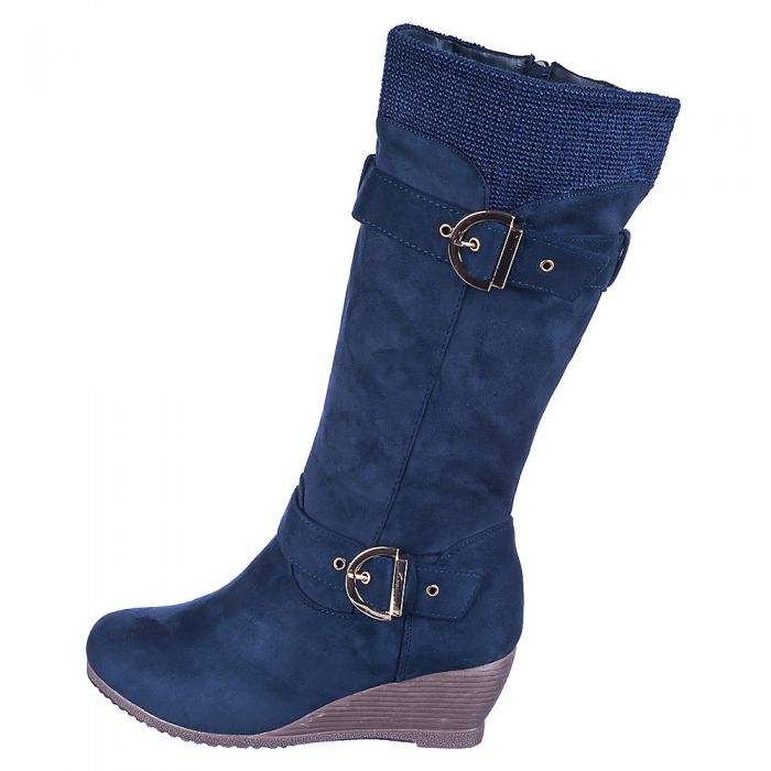 188f838dd3ae Women s Wedge Pocket Boot Monicca 3 S Navy
