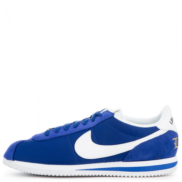 brand new 26451 a57ca NIKE CORTEZ BASIC NYLON PREMIUM OLD ROYAL/WHITE/METALLIC GOLD