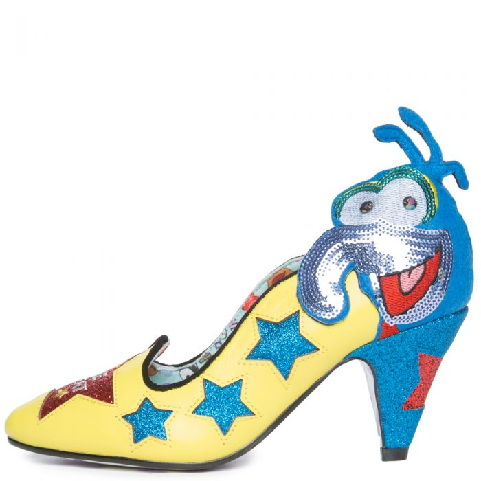 The Muppets x Irregular Choice The Great Gonzo Heel BRIGHT