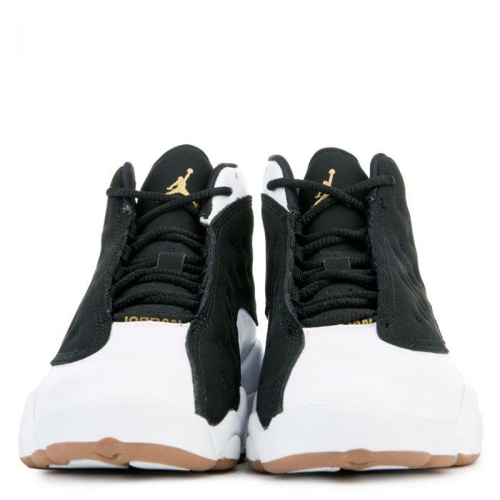 low priced 0d060 376ae Jordan 13 Retro BLACK/METALLIC GOLD/WHITE-GUM MED BROWN