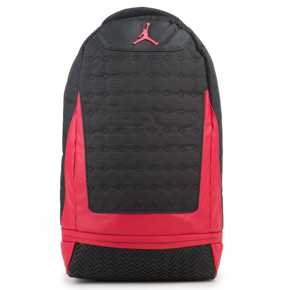 31422831957b ... jordan men. menu0027s jordan retro 13 backpack red jordan men ...