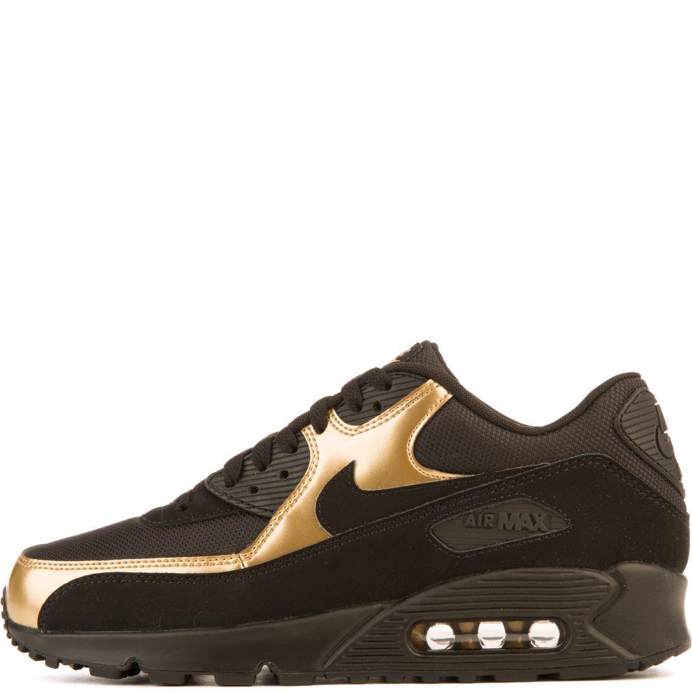 air max 90 gold black