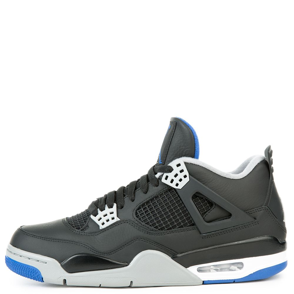 jordan 4 retro. air jordan 4 retro black/game royal-matte silver-white jordan retro