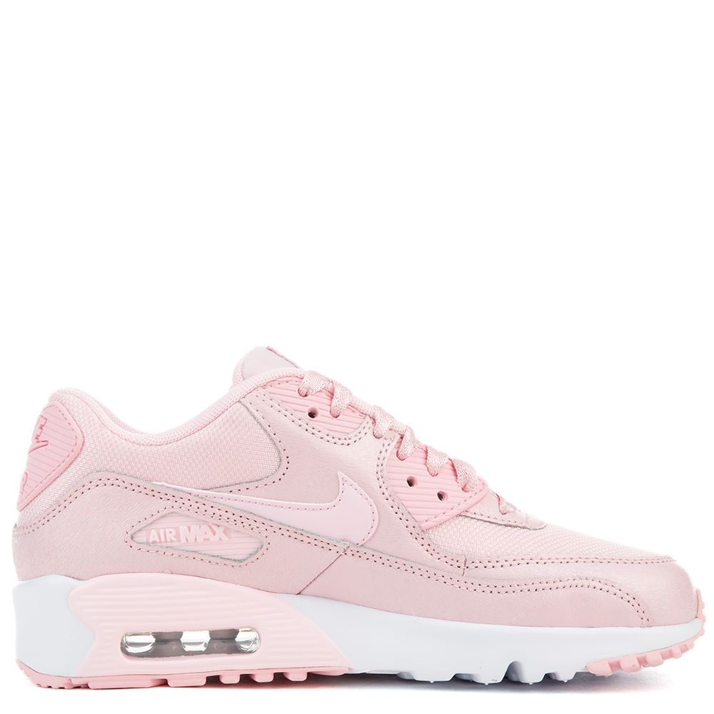 nike youth air max 90 mesh leather trainers
