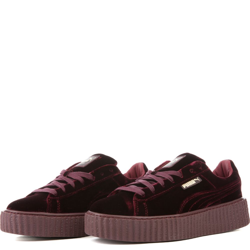 puma suede creepers purple gold. Black Bedroom Furniture Sets. Home Design Ideas