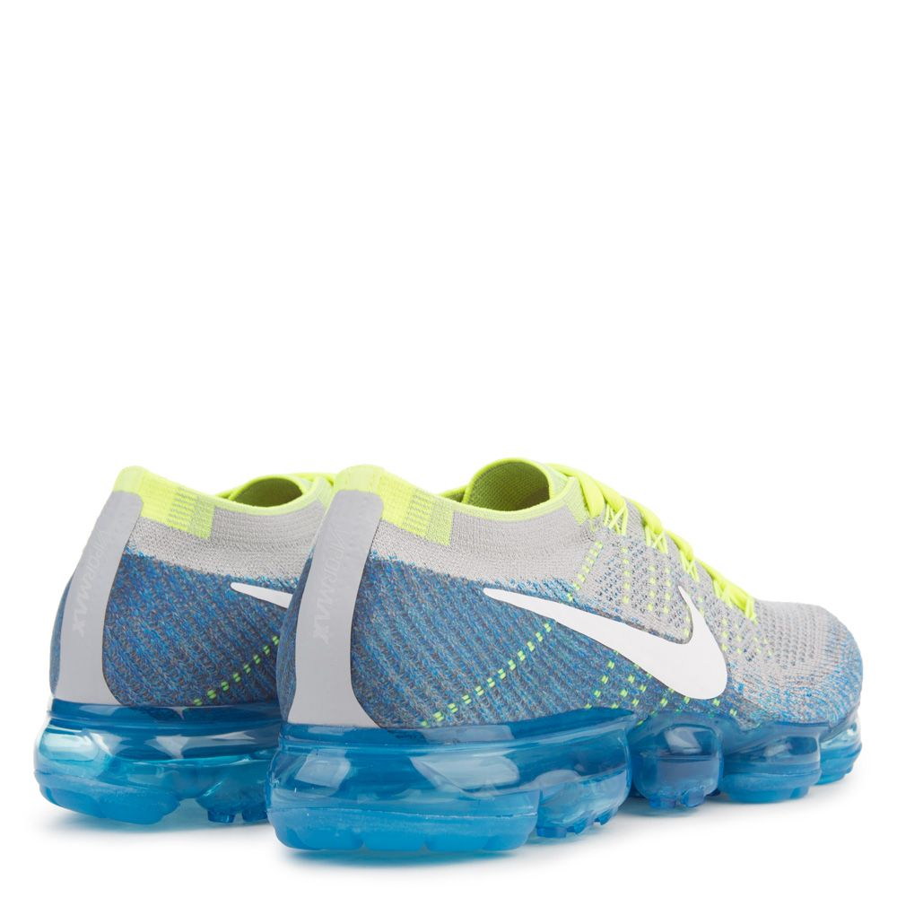 5bdae670030 Nike Air Vapormax Flyknit Wolf Grey   White   Chlorine Blue   Photo ...