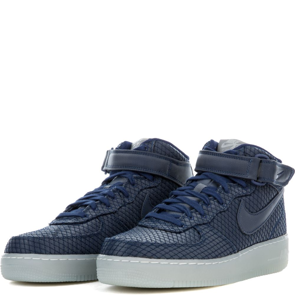 new product 3209c 747ba Nike Air Force 1 Mid 07 Lv8 Binary BlueBinary Blue-White ...