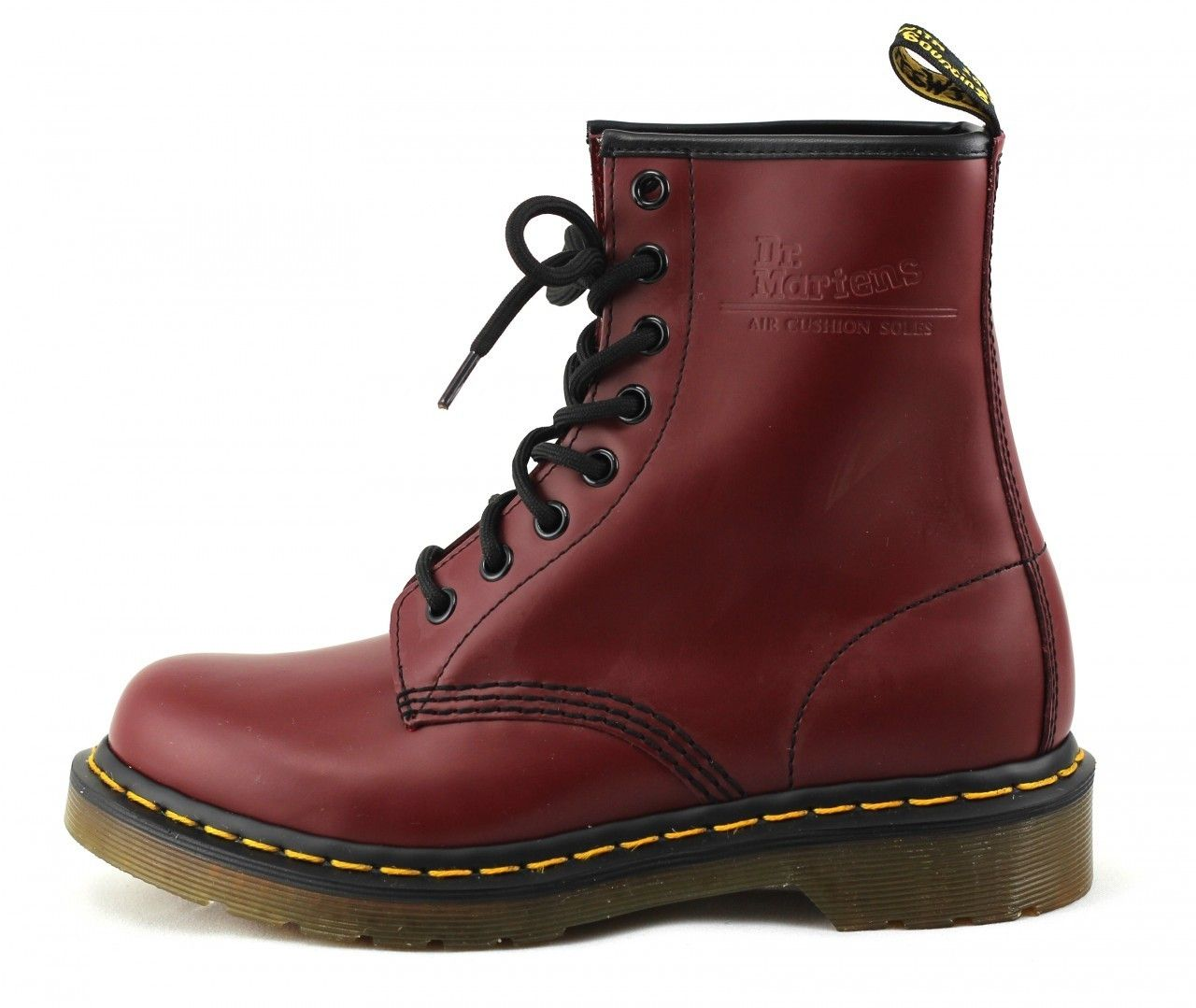 dr martens womens 1460 oxblood low heel combat boot shiekh shoes. Black Bedroom Furniture Sets. Home Design Ideas