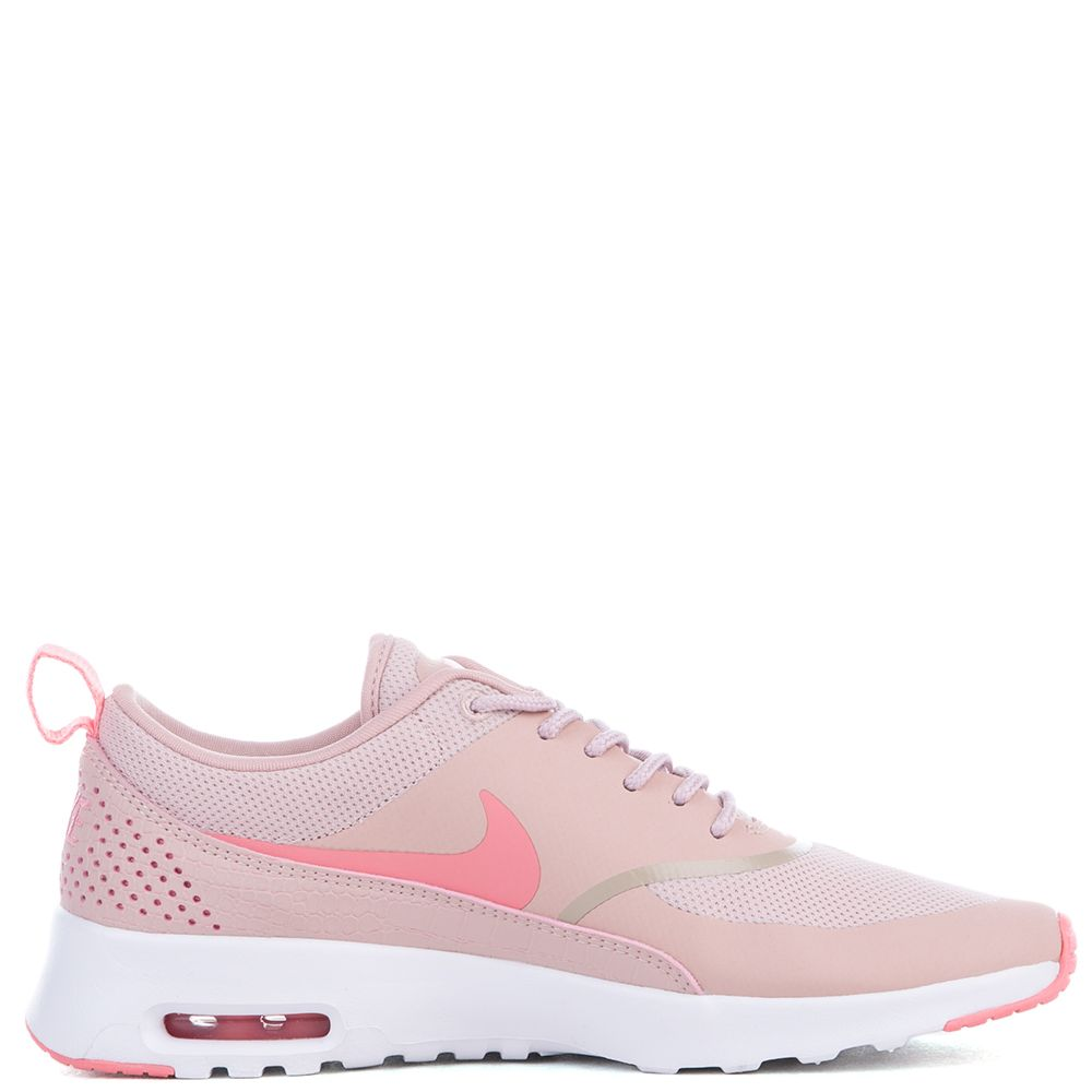 Nike Womenu0026#39;s Air Max Thea Shoe Pink Oxford/Bright Melon-White