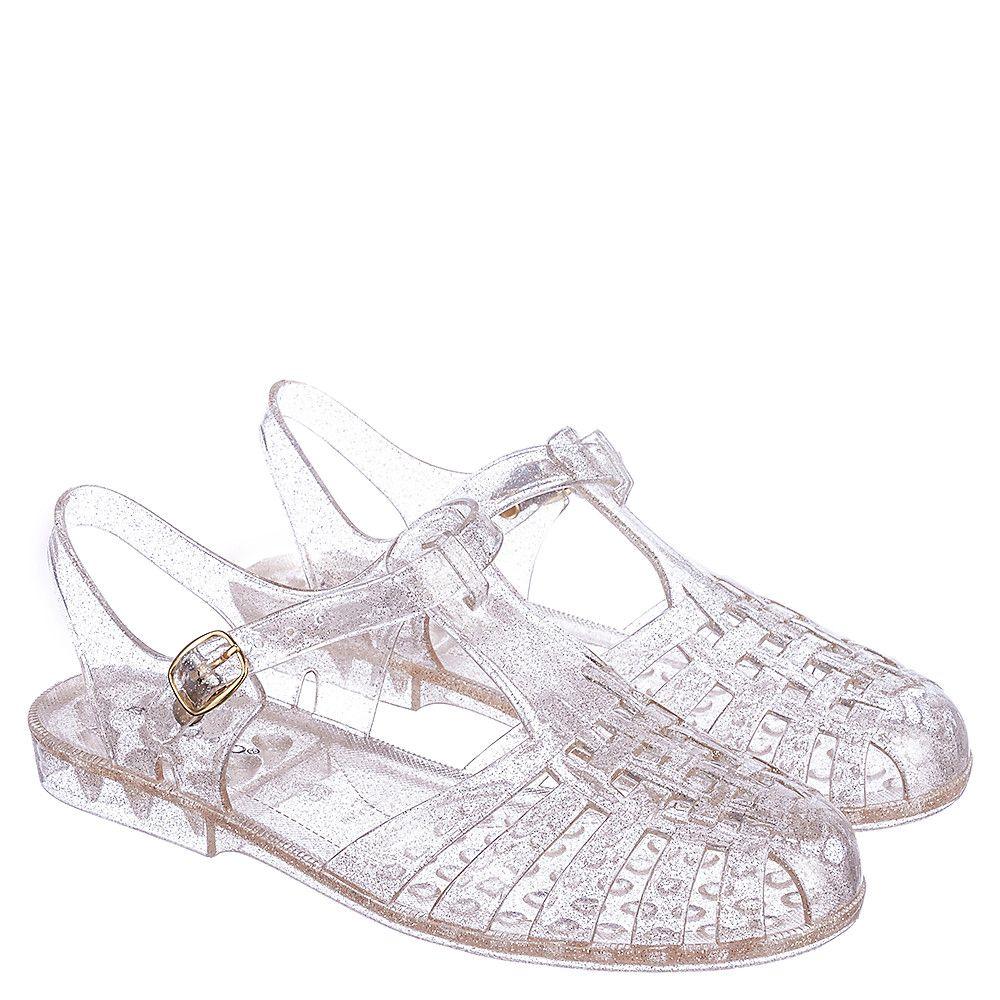Gold Women's Amira-01 Jelly Sandal