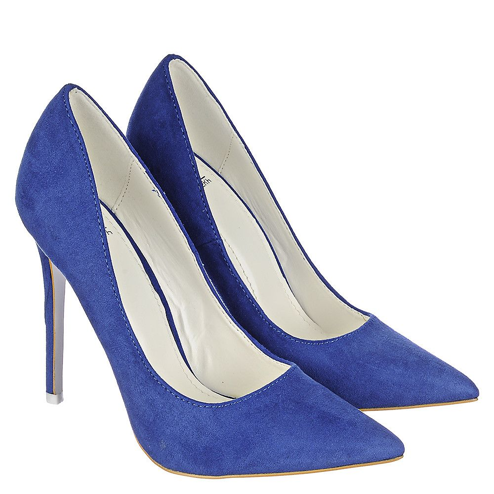 Shiekh Mellina-3 Women's Blue High Heel Dress Shoe | Shiekh Shoes