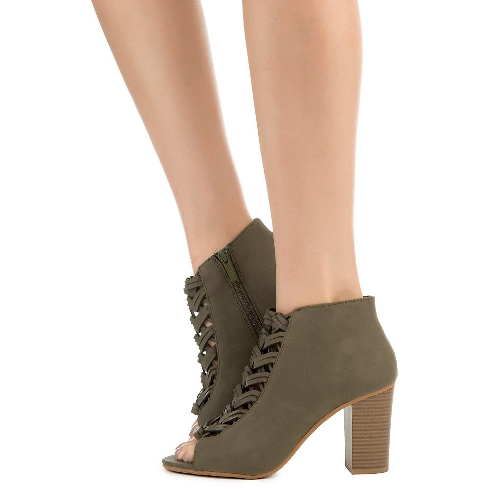 Womens Grassy Ankle Boot Boot