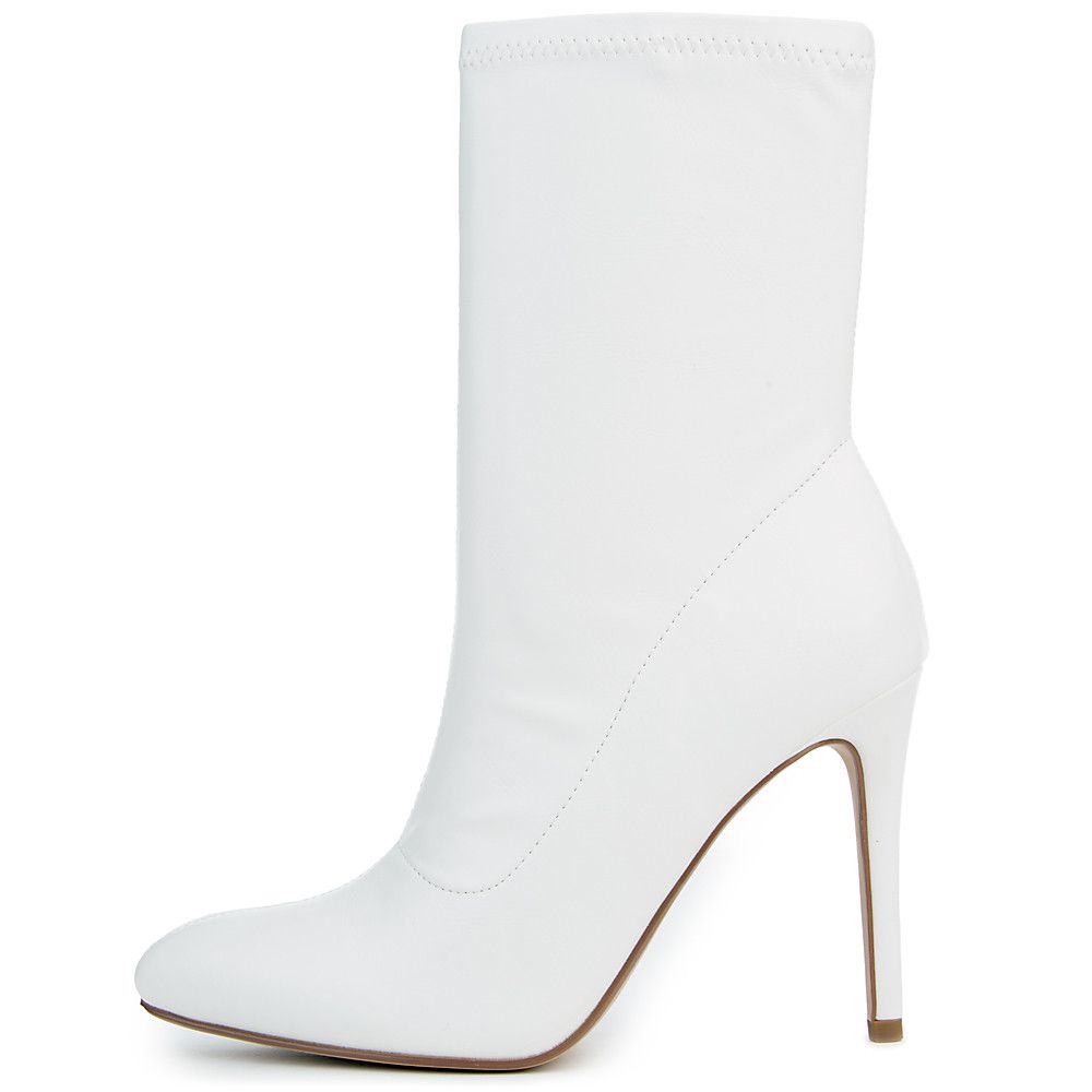 Women's FD Dean S Ankle Boot White