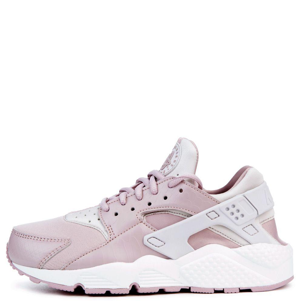 Nike Sportswear AIR HUARACHE RUN - Trainers - vast grey/particle rose/summit white dPxfBVi1a
