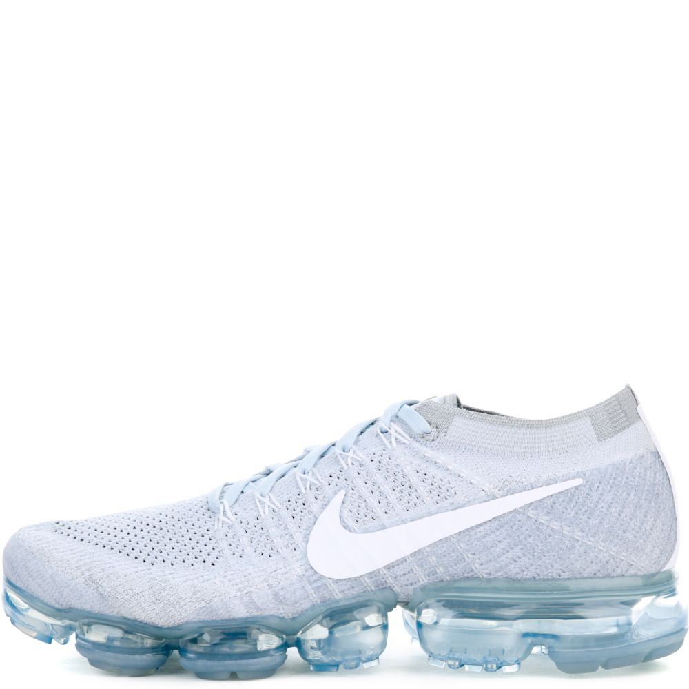 Nike Air Vapormax Flyknit Pure Platinum White Wolf Grey