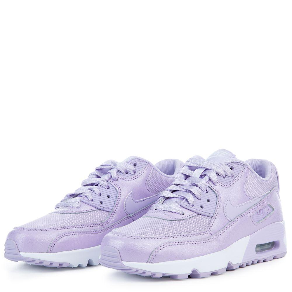 nike air max 90 gs violet mist