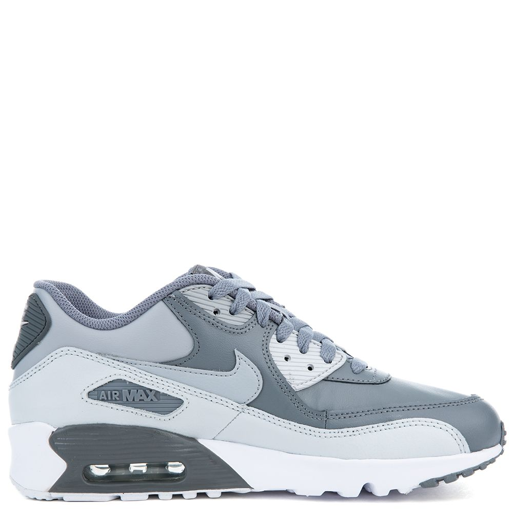 90 Cool Outdoor Halloween Decorating Ideas: Nike Air Max 90 Ltr (GS) Cool Grey/Wolf Grey-Pure Platinum