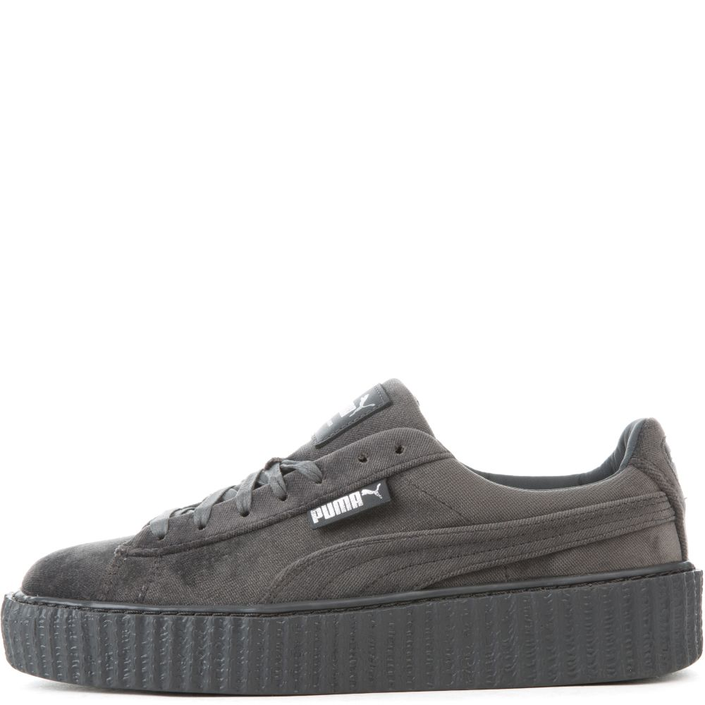 puma suede creepers grey gold. Black Bedroom Furniture Sets. Home Design Ideas