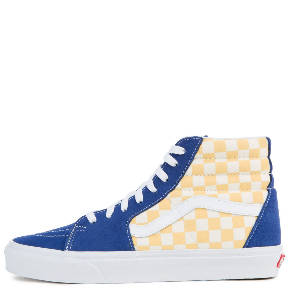 VansSK8-HI - High-top trainers - true blue/yellow VOvi1