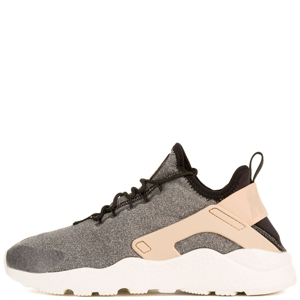 nike wmns air huarache ultra se black vachetta tan white black. Black Bedroom Furniture Sets. Home Design Ideas