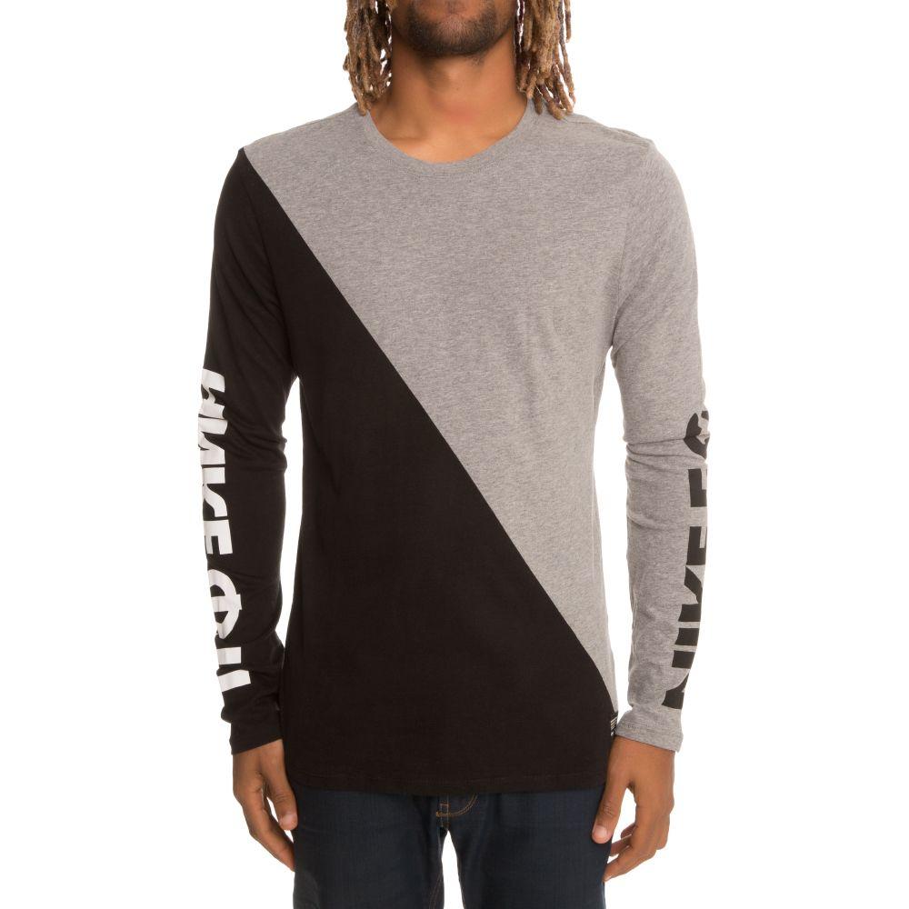 Nike Nike F.C. Men's Long Sleeve T-Shirt Grey/Black