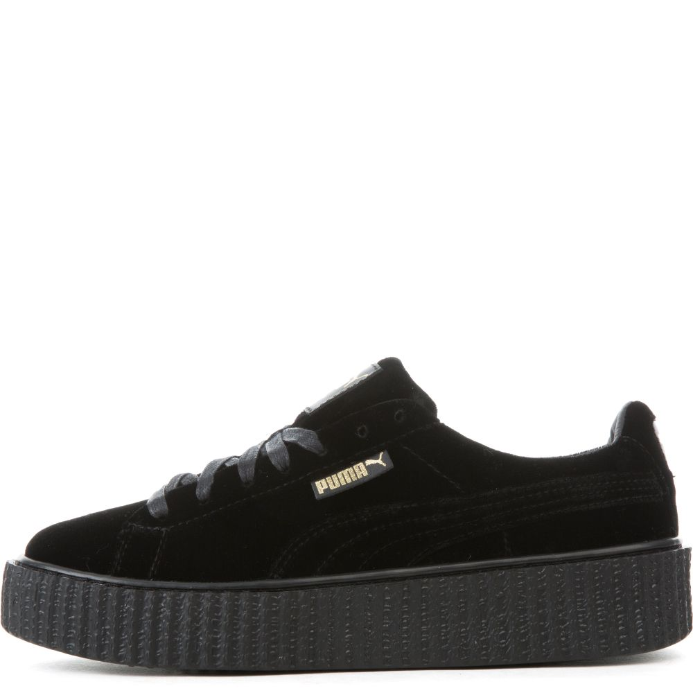 puma suede creepers black gold. Black Bedroom Furniture Sets. Home Design Ideas