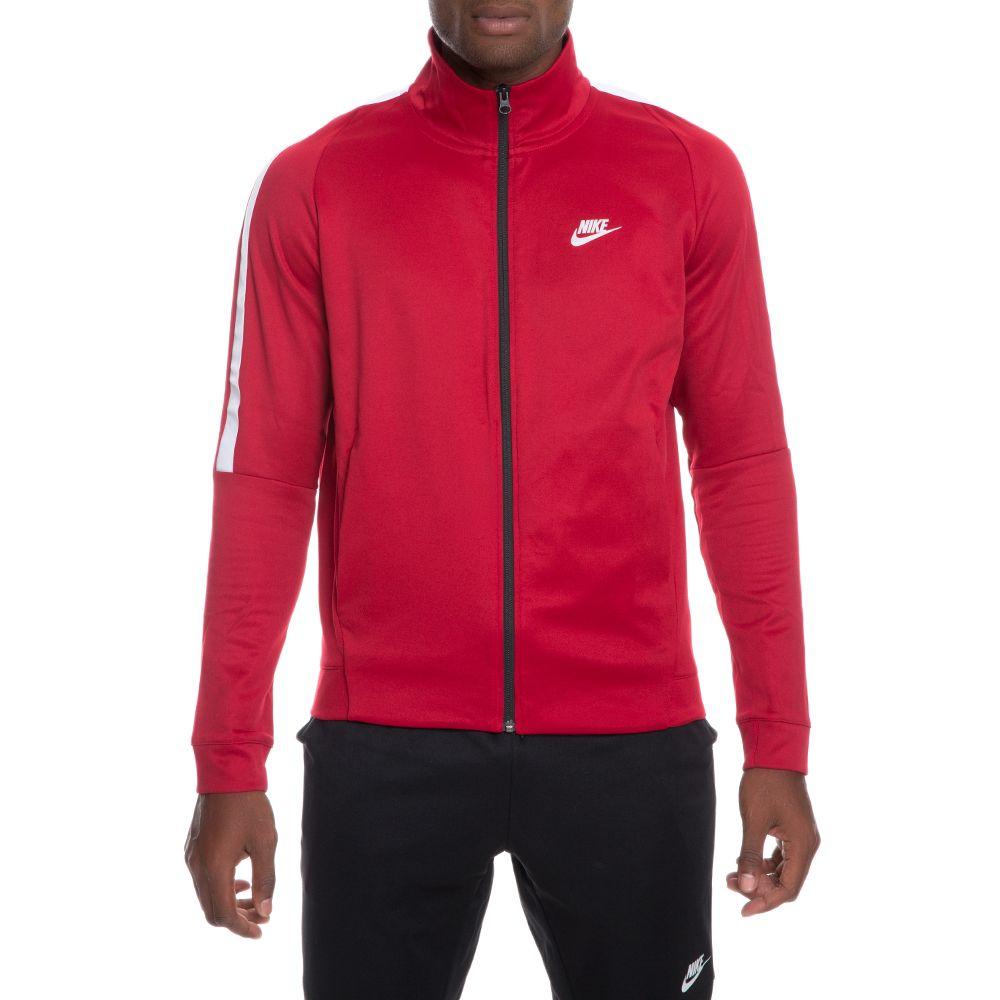 c50dc2598aef Nike Mens Tribute Track Jacket Sportswear Mens Sportswear COLOUR-grey