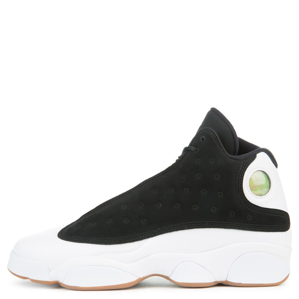 jordan retro 13 black and white