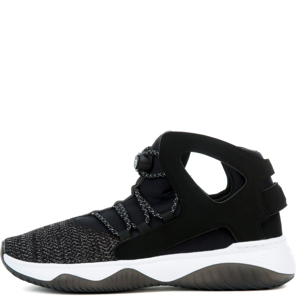 New Men's Nike Air Flight Huarache Ultra Black/White 880856-001 Basketball Shoe