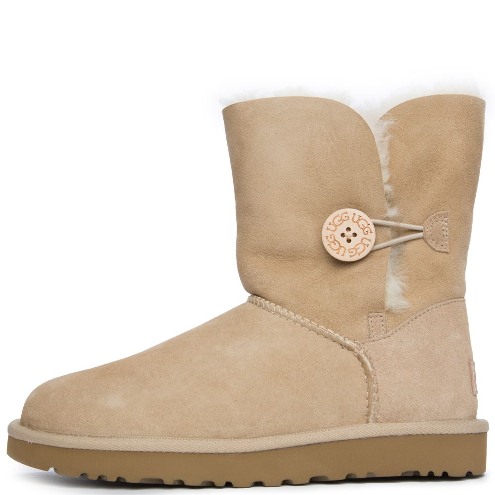 Ugg australia bailey button ii womens sand boots sand nvjuhfo Gallery