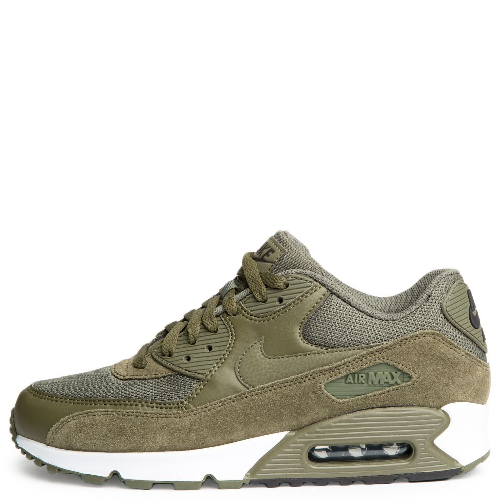 men 39 s nike air max 90 essential medium olive medium olive. Black Bedroom Furniture Sets. Home Design Ideas