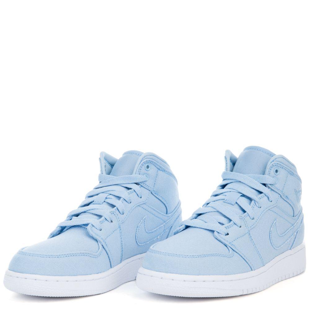 air jordan 1 mid bg blue