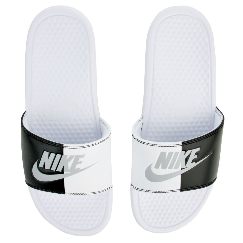 MEN'S NIKE BENASSI JDI WHITE/PURE PLATINUM-BLACK