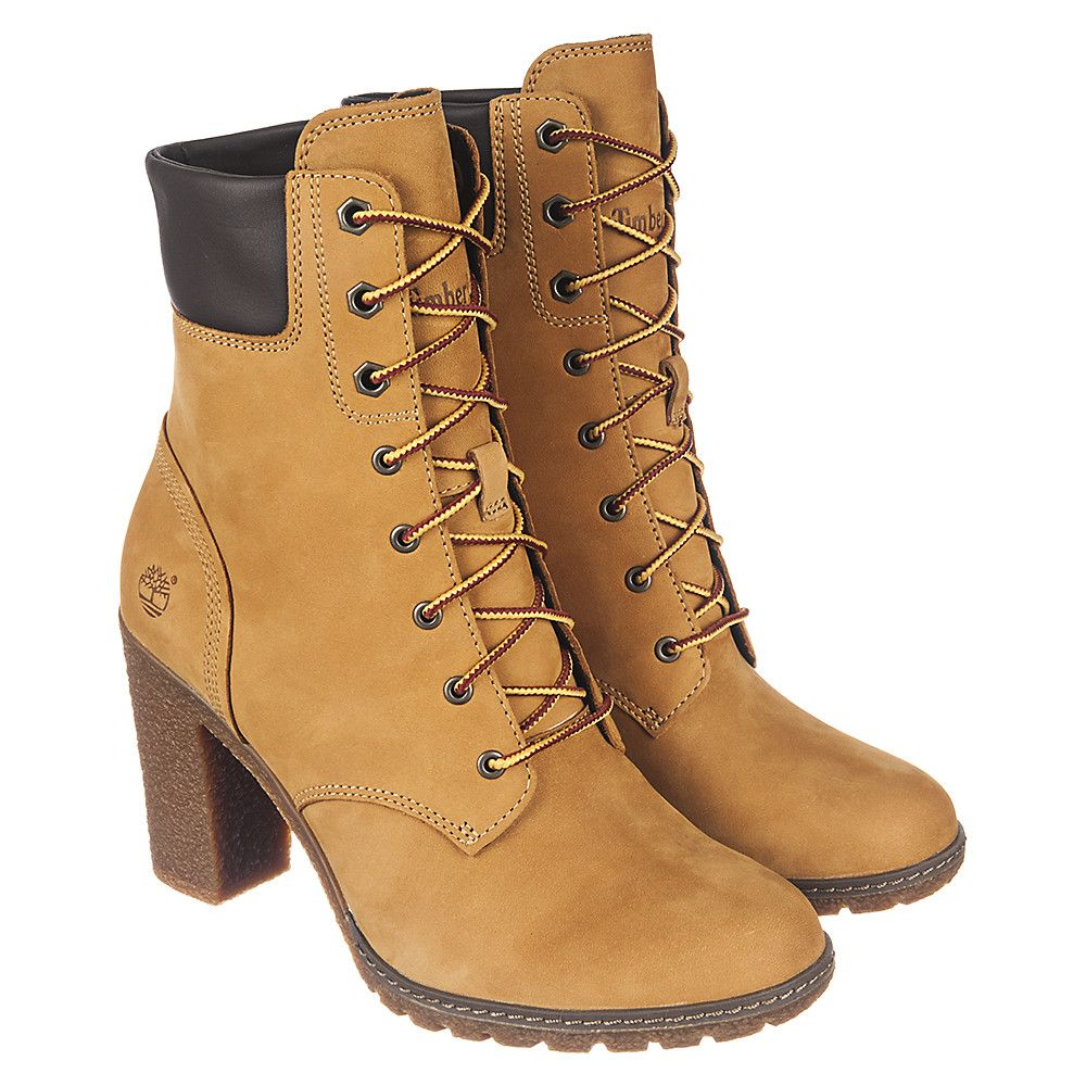 Women\u0027s Low Heel Boot Glancy 6 IN Wheat