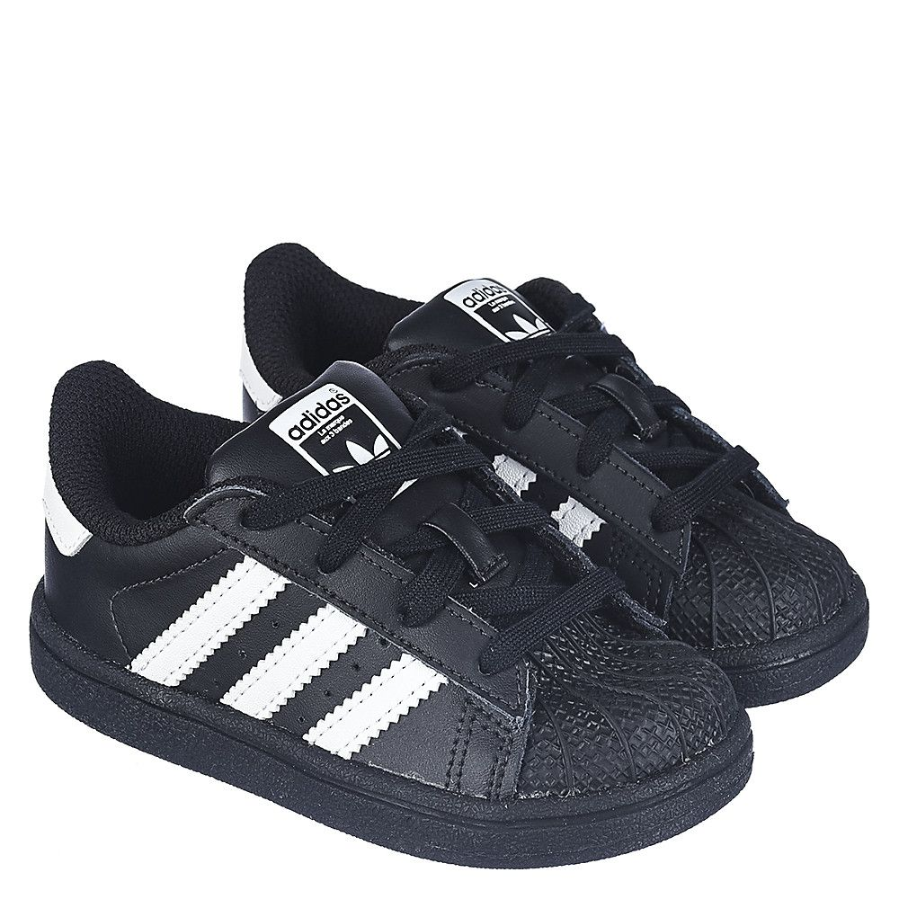 Toddler Sneaker Superstar Black/White
