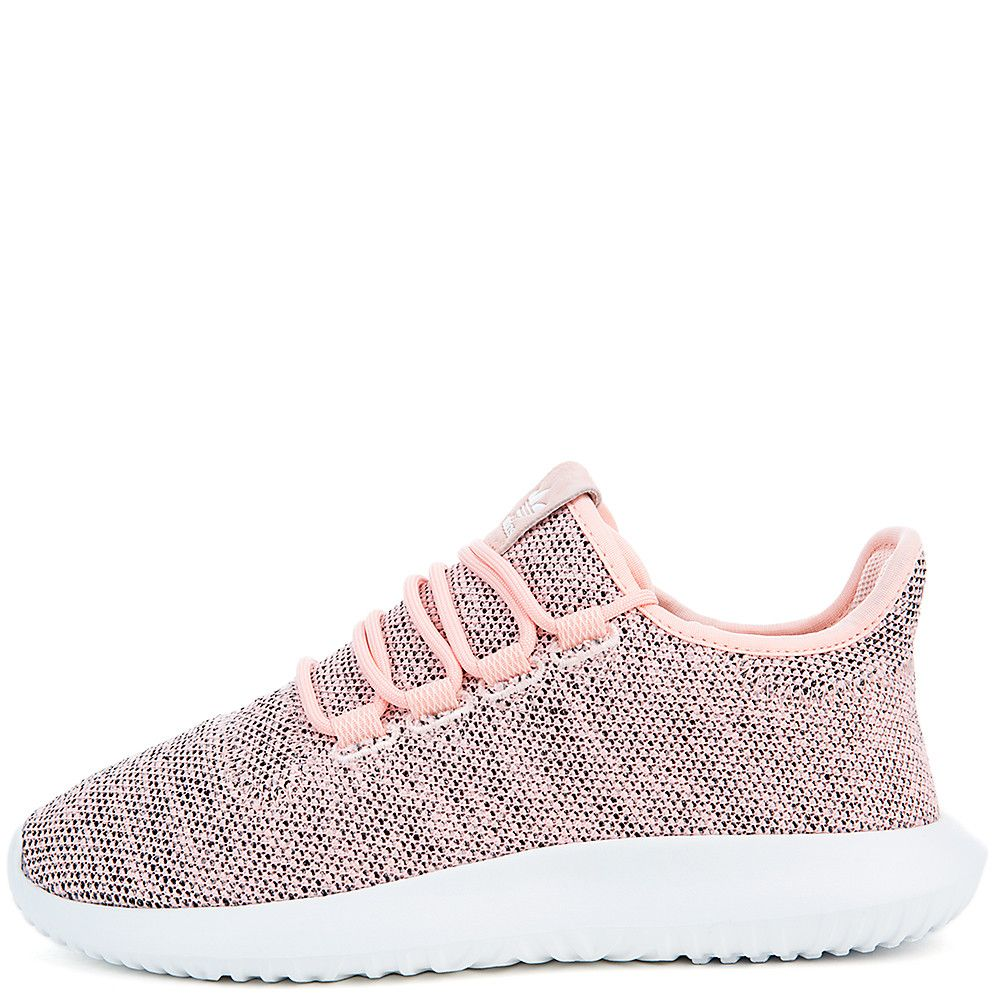 WMNS Tubular Shadow Knit Athletic Lifestyle Sneaker PINK/WHT/CORAL