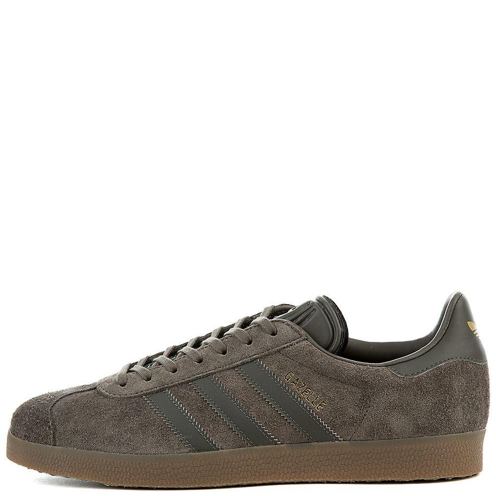 adidas men's gazelle grey
