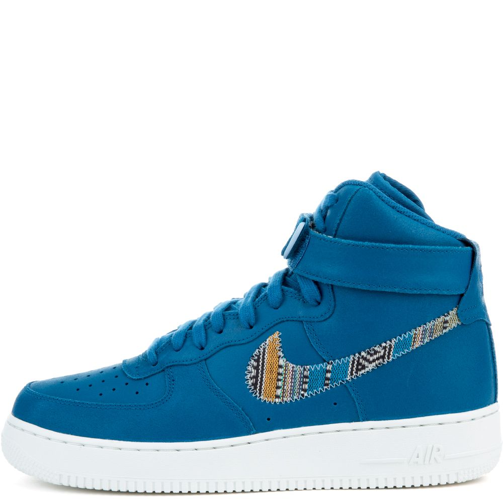 nike air force 1 mid 07 blue white industries