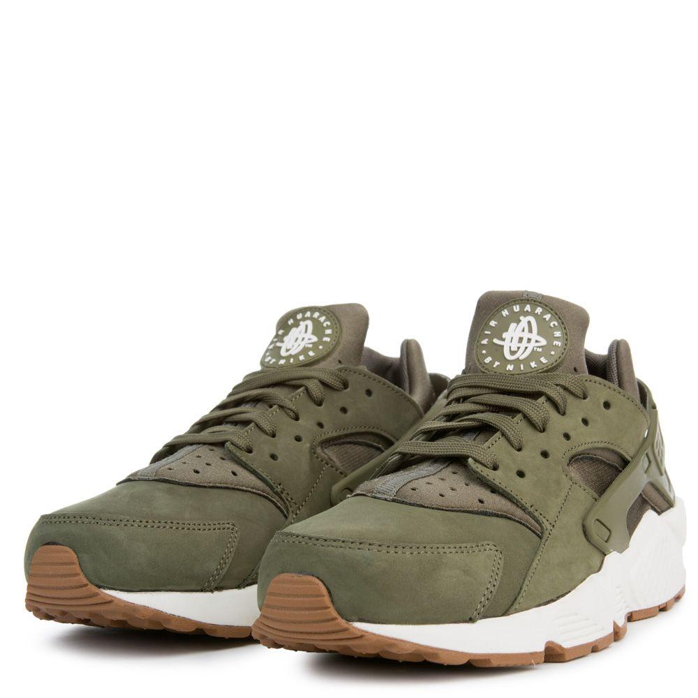 AIR HUARACHE - Sneaker low - medium olive/sail/medium brown Billig Verkauf Größte Lieferant MoF1wxUp8u