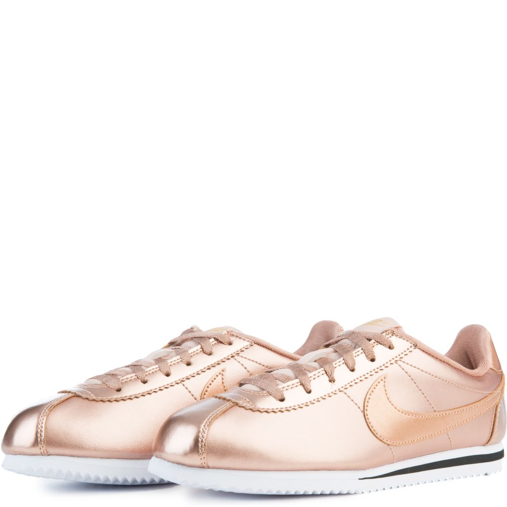 new product 7ad26 840ed nike cortez blanche et rose gold