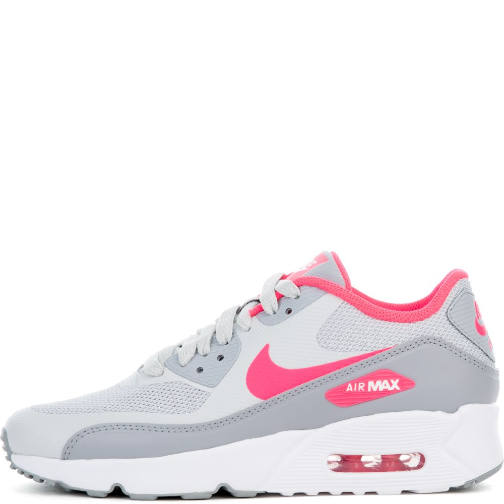 nike air max 90 ultra 2 0 gs pure platinum racer pink white wolf grey. Black Bedroom Furniture Sets. Home Design Ideas