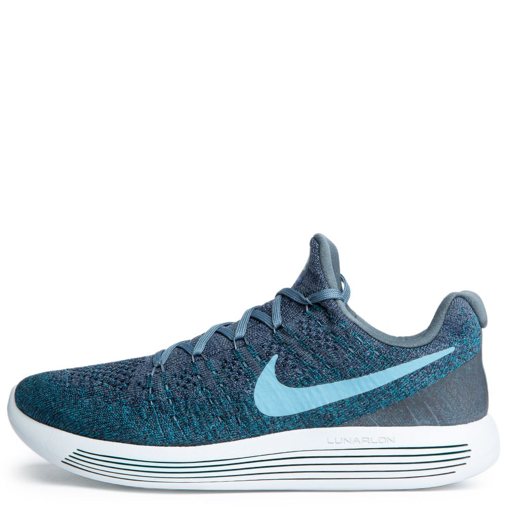 Men's Nike Lunarepic Low Flyknit 2 Blue Fox/Cerulean-College Navy