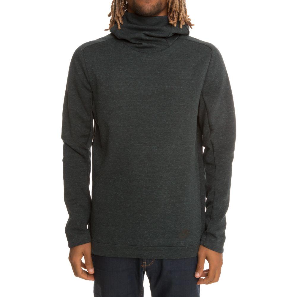 Black nike hoodie mens