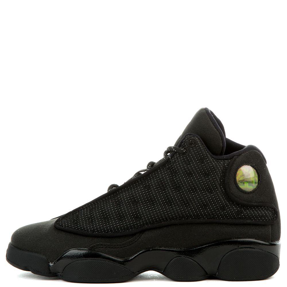 Air Jordan 13 Retro Bg (gs) 'Black Cat' - 884129-011 - Size 4 h7B5VAPKs