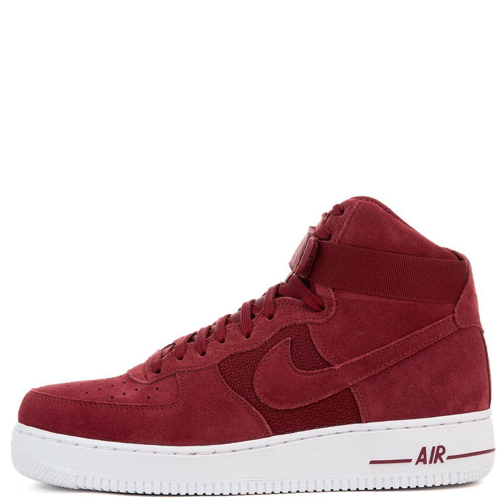 Nice Femmes Nike Air Force 1 07 Haute Redbox Suède Universitaire achats le  moins cher rabais