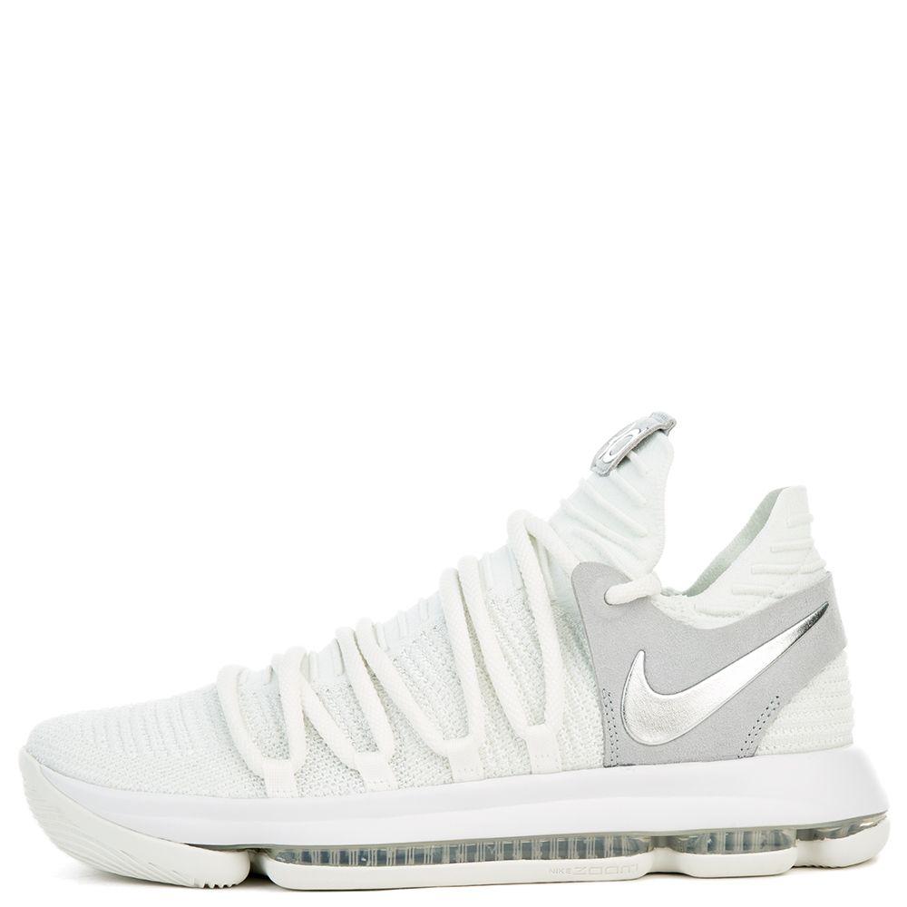 Nike Zoom Kd10 Platino Cromo Puro Blanco  Cromo Platino f340a9