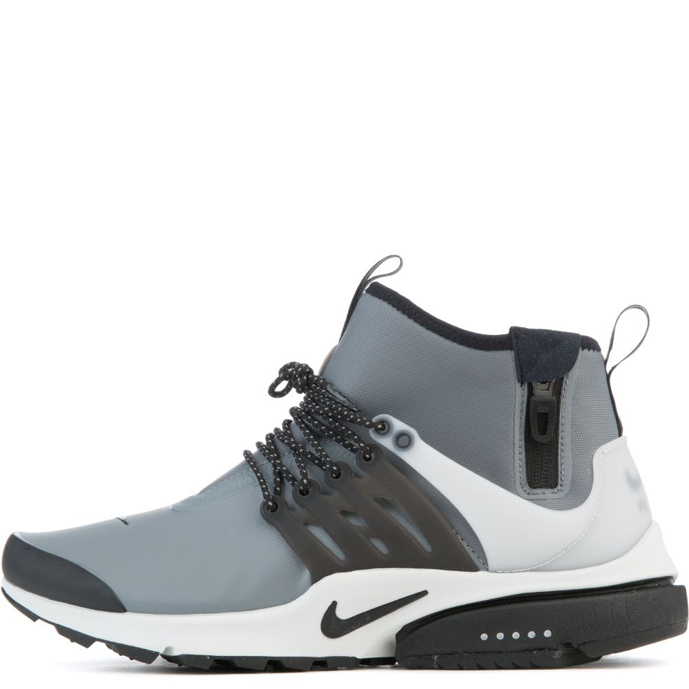 New Nike Air Presto Mid Utility Black Yellow White Running Shoes